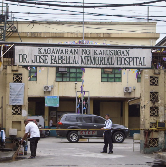 The Jose Fabella Hospital averages 60 deliveries a day.