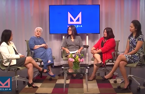 3. Co-hosts Jen Furer, Rachelle Ocampo, and Cristina DC Pastor interview community leaders on Makilala, the first Filipino American talk show in the New York metropolitan area. Makilala, which means 'get to know' in the Philippine language, is entering its fifth year.