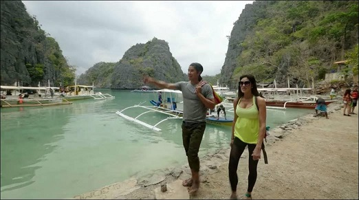 Siblings Garrett and Miristi Gee on a self-discovery trip of a lifetime to the land of their ancestry, the Philippines, in 'Discovering Routes.'