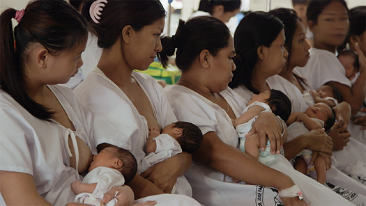 1One in 10 young Filipino women -- between 15 and 19 years of age -- is already a mother.