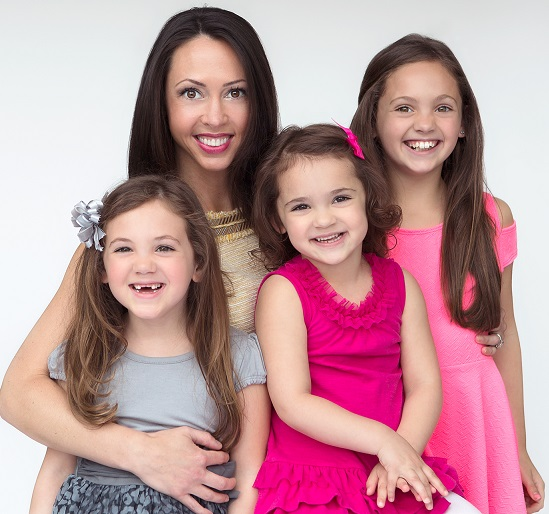 Tammy Gold with daughters Braydin, Presley and Gemma. Matching children with the right caregivers