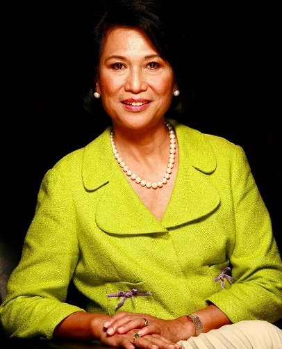 Honored for her contributions to Asian American communities