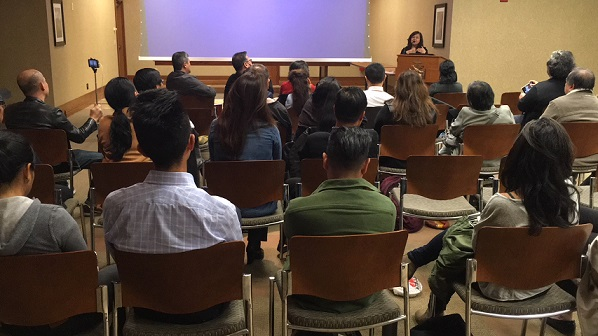 The October 20 forum was sponsored by the Fil-Am Press Club of New York.