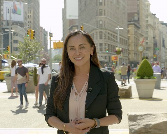 Host and reporter for CUNY-TV's Emmy-nominated program 'Asian American Life.'