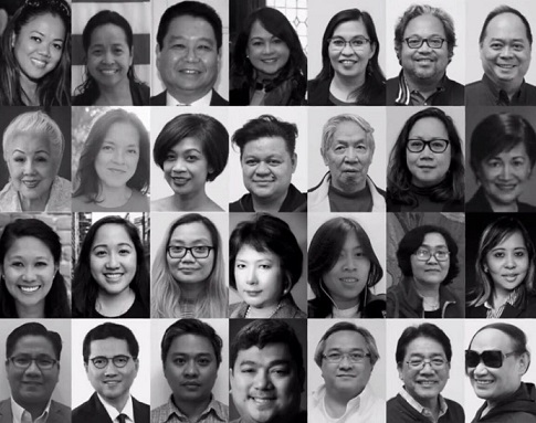 Members of the FAPCNY.  Photo collage by Troi Santos