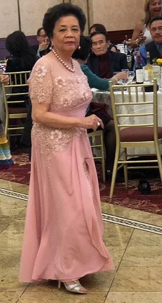 Dancing at her retirement party; soon writing her memoir. The FilAm Photo