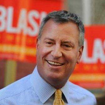 Reelected NYC Mayor Bill de Blasio
