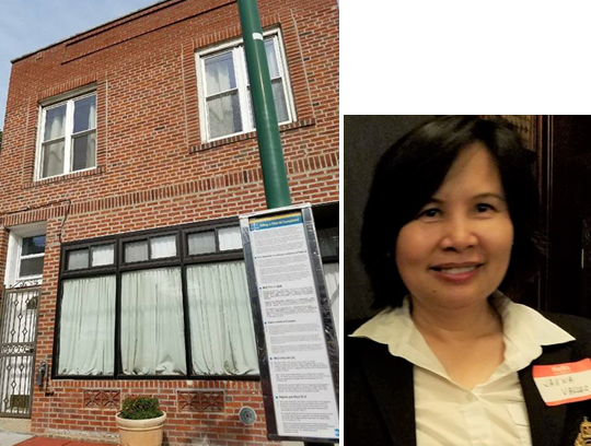 CPA Jaena Valles bought an office in the Bronx for her expanding tax & accounting business service.