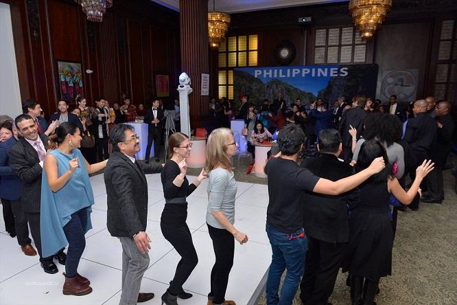 Kalayaan Hall became one big dance party.