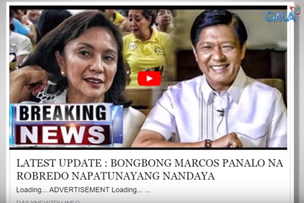 An example of fake news in 'Fact or Fake with Joseph Morong.'