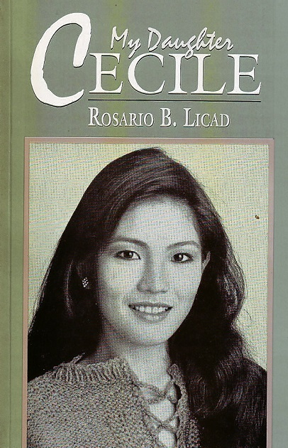 An intimate biography written  by her mother, Rosario Licad, and published in 1994.