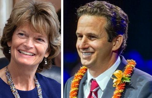 Senators Lisa Murkowski and Brian Schatz