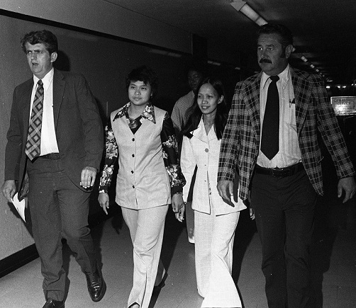 The Union of Democratic Filipinos advocated for the release of two Filipina nurses, Filipina Narciso and Leonora Perez, accused of murdering 35 patients in a Michigan hospital in 1975. Photo: Ann Arbor District Library