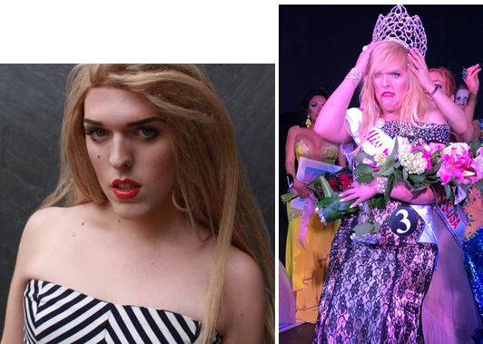 Five-borough New Yorker Alana Dillon. She was born in Manhattan, raised in the Bronx, studied in Staten Island for college, and now lives in Brooklyn. Queens is where she became the first Miss Gorg.