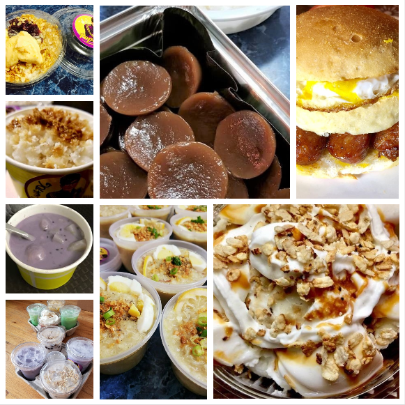 For the 'midnight snackers,' a wide array of bites, from Gourmet Binatog to Purple Soup or Guinataan.