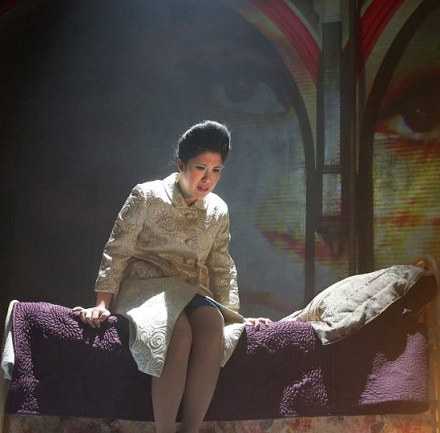 Ruthie Ann Miles as Imelda Marcos: 'Abigail was her world,' says friend and 'Here Lies Love' costume designer Clint Ramos
