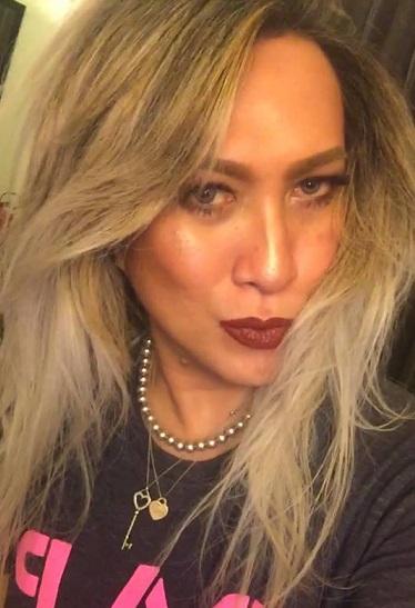 Singer Toni Santos Gado