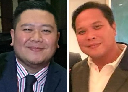 PAL Area Manager Josh Vasquez; Ugly Kitchen Chef Aris Tuazon