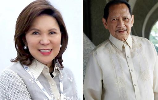 Philippine Tourism Secretary Wanda Teo; Cultural Center of the Philippines President Nick Lizaso