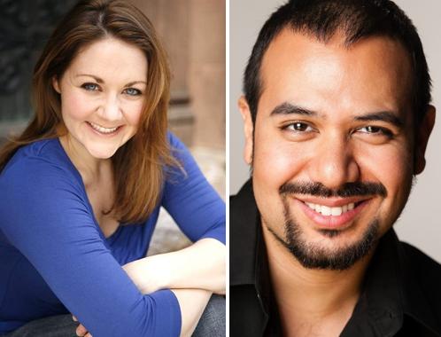 Soprano Brittany Palmer; Baritone John Andrews Fernandez