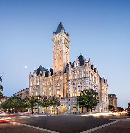 The hotel on 1100 Pennsylvania Avenue NW in Washington, D.C.  Photo: TrumpHotels.com