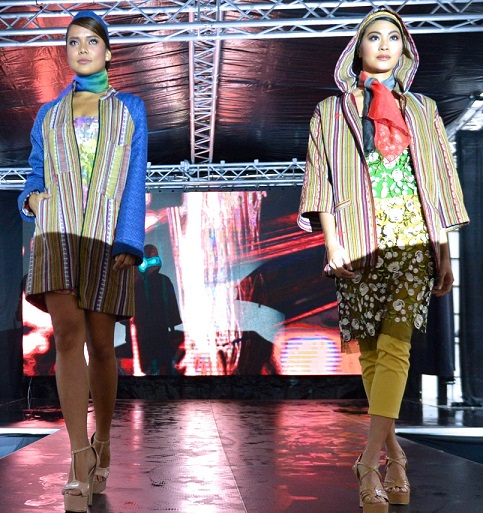 Bringing indigenous Philippine weaves to Philly. Photos by Boyet Loverita