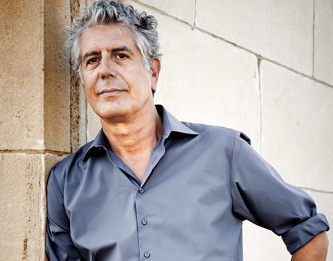 Bourdain, 1956-2018. Sisig and Lechon were some of his favorite Filipino food. Photo: Travel Channel
