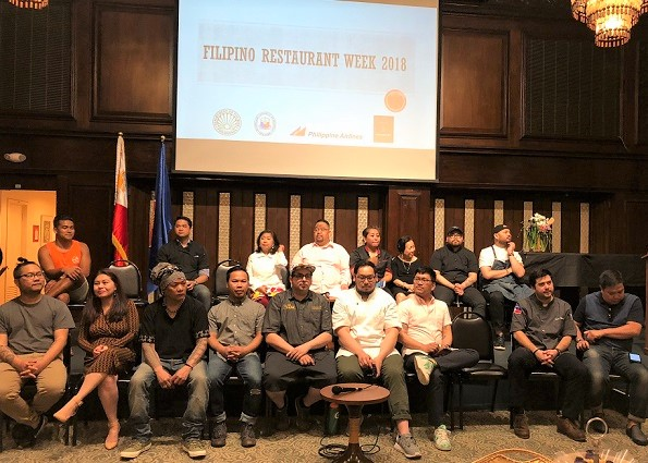 Talented immigrant chefs at Filipino Restaurant Week in NYC.