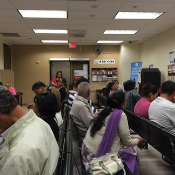 Beneficiaries waiting at a Social Security office. Photo: Yelp