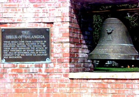 The dispute over the bells of Balangiga is a protracted sore point in Philippine-U.S. relations