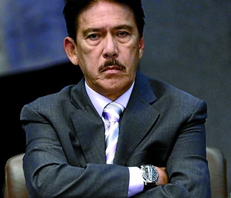 Senate President Tito Sotto. He is second in line in the Philippine leadership succession after the Vice President.