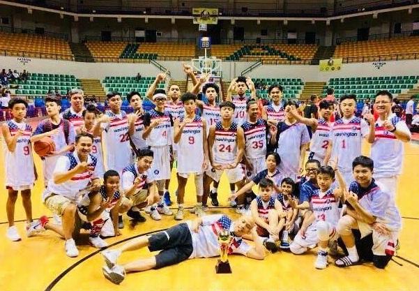 FYBA teams at the Alonte Arena in Binan, Laguna