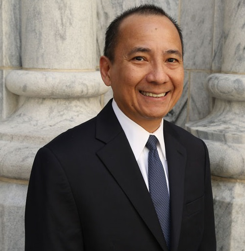 Priest and scholar Faustino 'Tito' Cruz, S.M. Photo: Fordham University