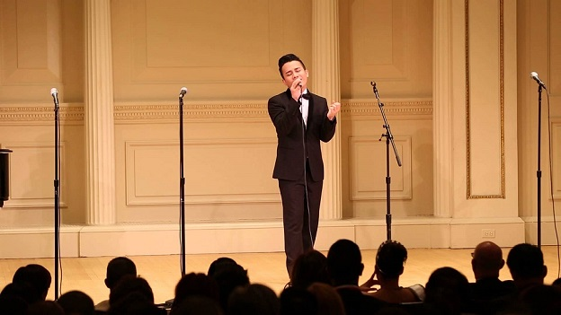 His NYC debut through the 2014 The Outstanding Filipino Americans in New York awards ceremony held at Carnegie Hall.