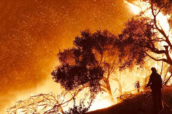 More recent California wildfires 'last longer and affect larger areas.'