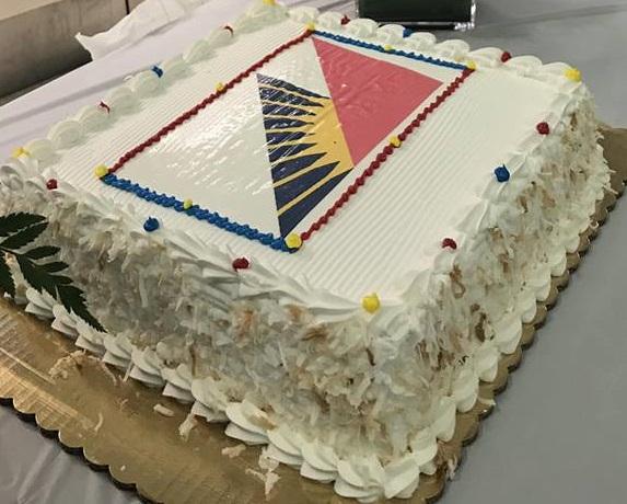 Historic flight deserves a send-off cake.