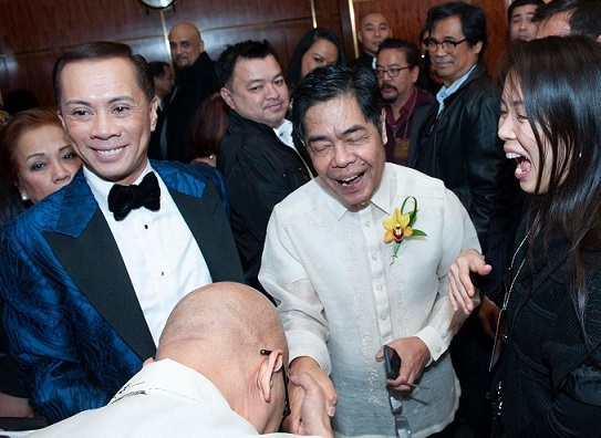 Consul General Claro Cristobal and King of Talk Boy Abunda rekindle a long-ago friendship