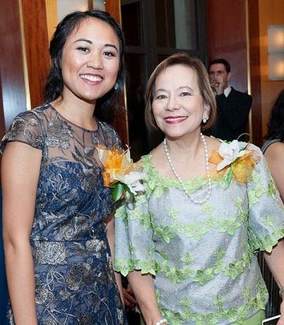 Pulitzer, meet Nobel: Mariel Padilla and Vivian Talambiras Cruz.