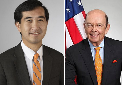 John Yang of Asian Americans Advancing Justice; Commerce Secretary Wilbur Ross