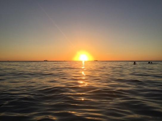 Breathtaking Boracay sunset.