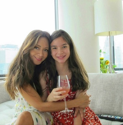 With daughter Ella, the 'love of my life.'