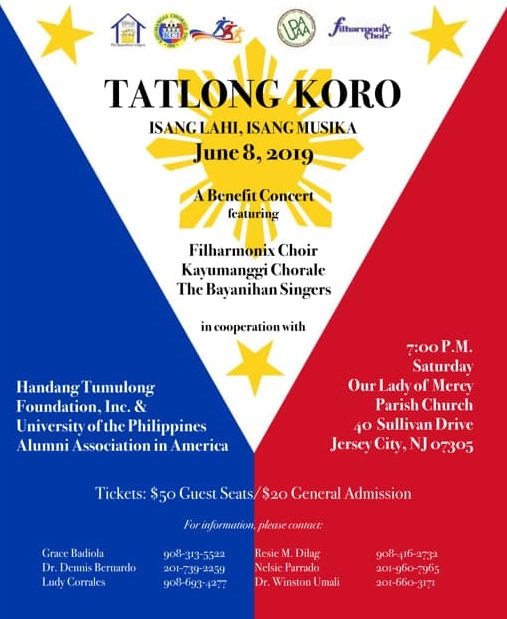 Jersey choirs in June 8 Koro concert » The FilAm